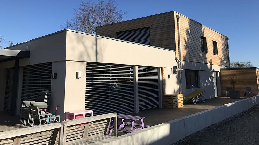 Pose de fenêtres, volets et portes à Colmar (68) - Alsace Fenêtres