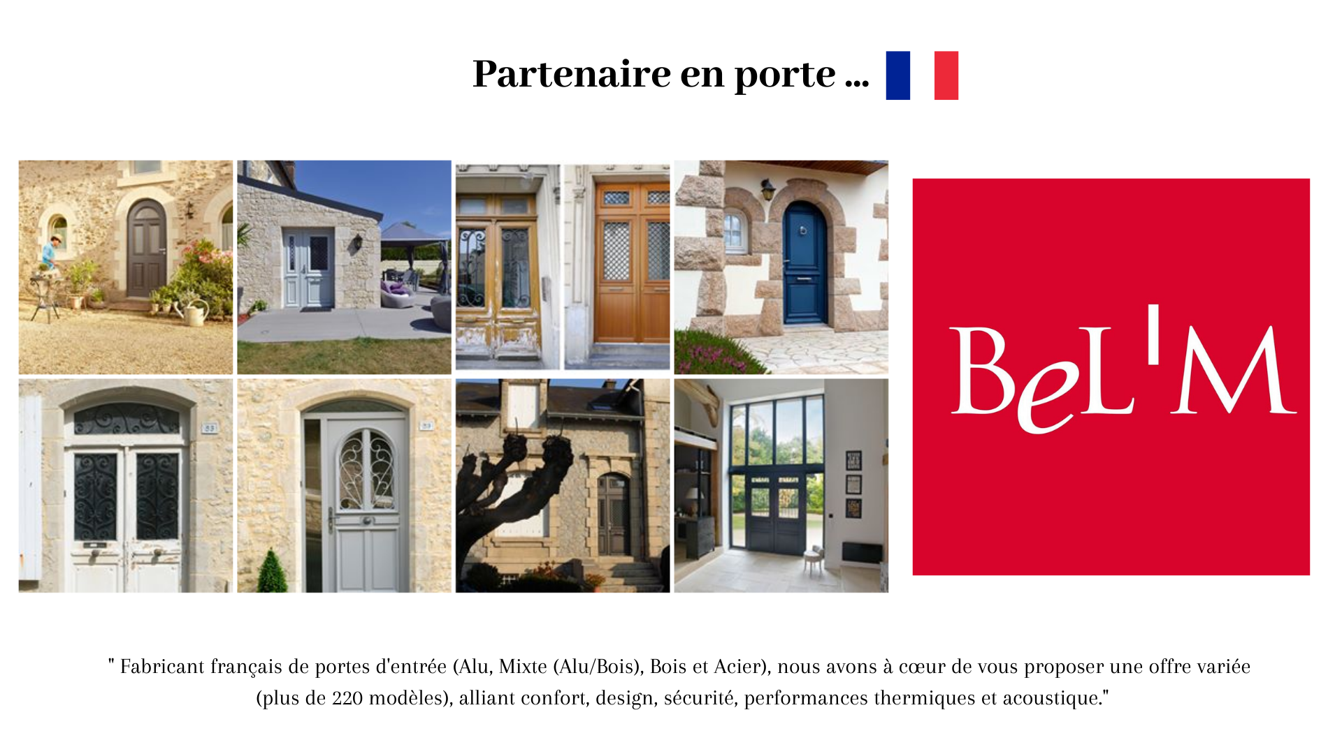 Partenaire porte, made in France